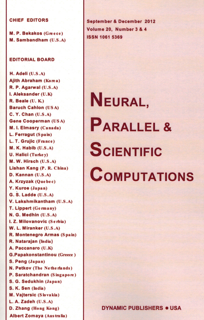 Neural, Parallel, and Scientific Computations